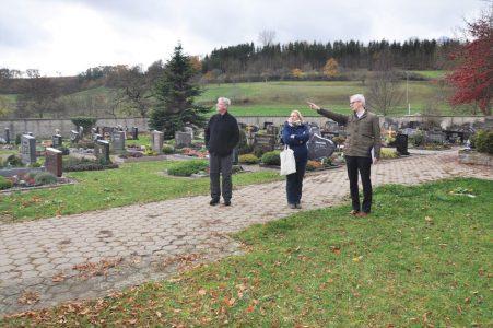 Ortsbegehung/-analyse Friedhof Nassau