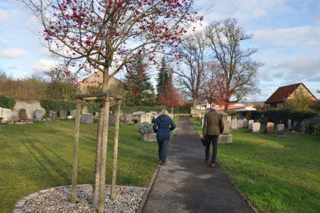 Ortsbegehung/-analyse Friedhof Schäftersheim
