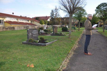 Ortsbegehung/-analyse Friedhof Elpersheim